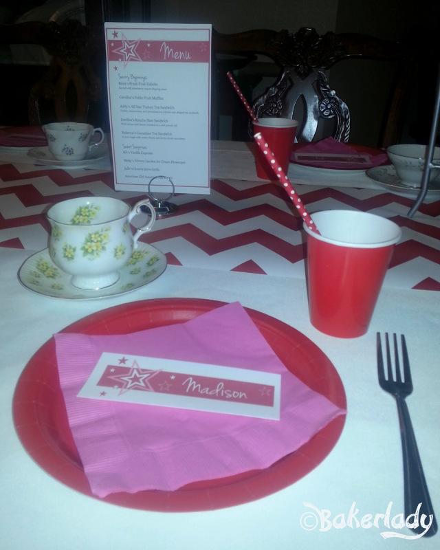 American Girl Tea Party