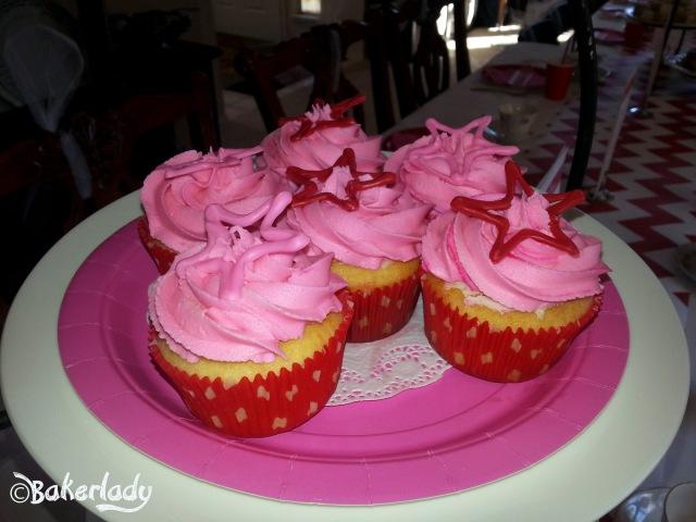 Kit's Vanilla Cupcakes American Girl Party