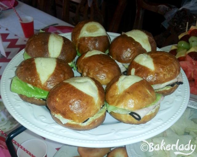 Josefina's Rancho Ham Sandwich