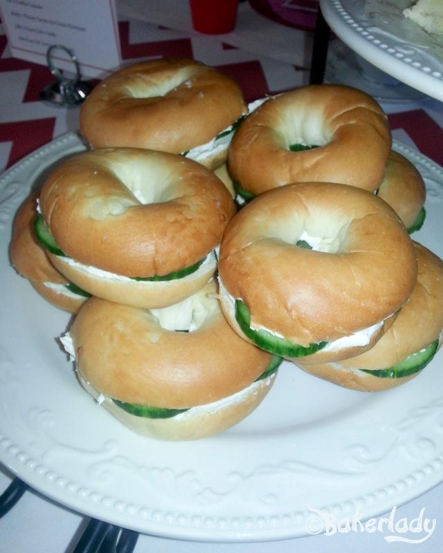 Rebecca's Cucumber Tea Sandwich