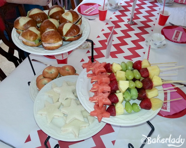 American Girl Tea Party Food