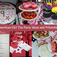 American Girl Tea Party Birthday