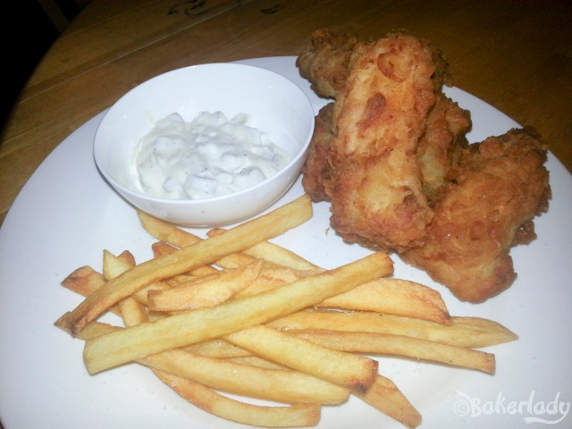 Beer Battered Fish and Chips - Bakerlady