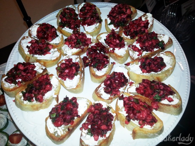 Cranberry Jalapeno Bruschetta