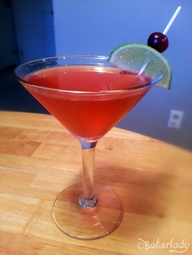 Cranberry Jalapeno Martini