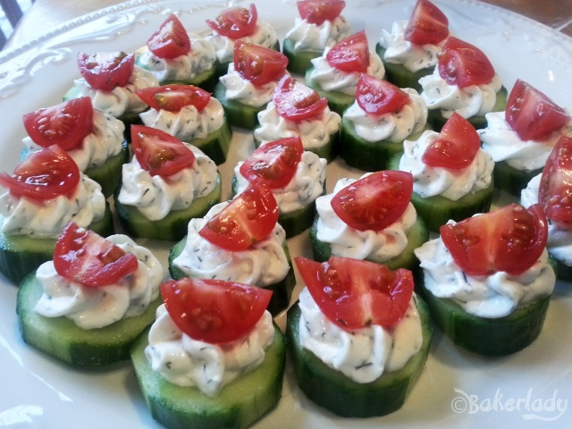 Dilly Cucumber Bites